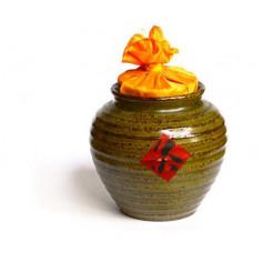 Темно-зеленая чайница Сян Тао