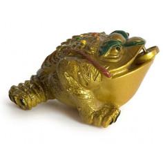 Трехлапая жаба (меняет цвет на золотой)
