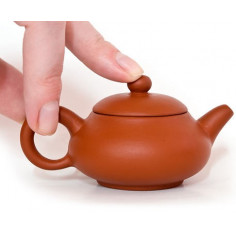 Глиняный чайник в форме груши, 50 мл