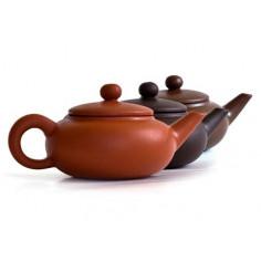 Красный чайник «Овальная жемчужина», 40 мл