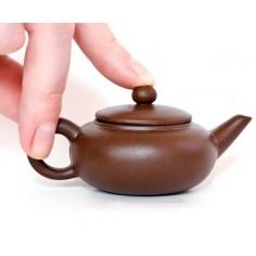 Коричневый чайник «Овальная жемчужина», 40 мл