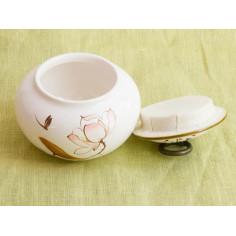 Чайница «Розовый лотос»