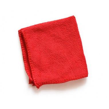Красное чайное полотенце, тонкое