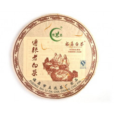 Выдержанный белый чай в блине (традиционный рецепт)