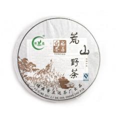 Дикий чай с горы Хуаншань в блине