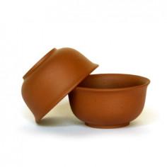 Маленькая чаша из исинской глины (бордовая)
