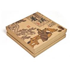 Подарочная коробка для пуэра с откидной крышкой