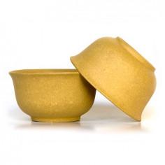 Маленькая чаша из исинской глины (желтая)