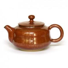 Красный керамический чайник Сян Тао