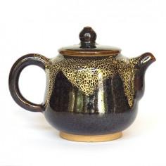 Синий керамический чайник Сян Тао