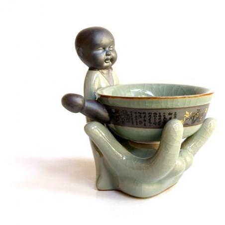 Селадоновое ситечко-статуэтка «Будда»