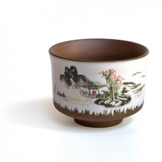 Глиняная чаша «Пейзаж»