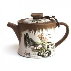 Глиняный чайник «Пейзаж»