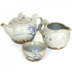 Чайный набор «Орхидея» (рисунок в двух стилях)