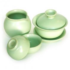 """Зеленый набор из жу яо """"Спокойствие"""" (с гайванью)"""