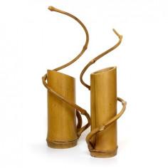 Стакан для инструментов из цельного бамбука