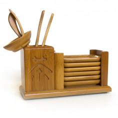 Набор инструментов с подставками для чайной пары, маленькие