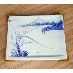 Керамическая чабань «Орхидея»
