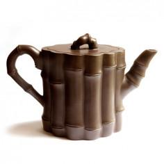 Чайник из исинской глины «Бамбуковый»