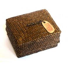 Набор порционного пуэра в плетеной коробке