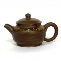 """Чайник из исинской глины """"Делящий небо"""""""