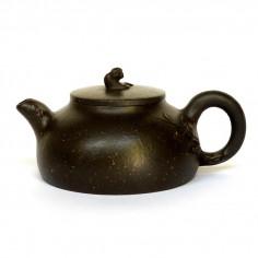 """Чайник из исинской глины """"Ветка"""""""