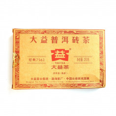 Чайный кирпич 7562 от бренда Да И (партия 1601)