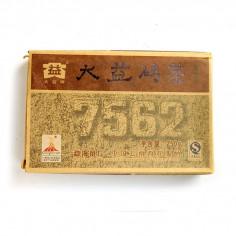 Чайный кирпич 7562 от бренда Да И (партия 001)