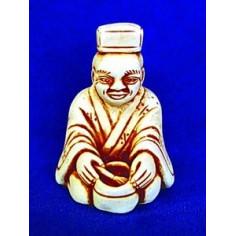 Нэцкэ «Мастер чайной церемонии»