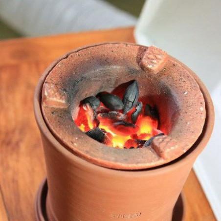Уголь из оливок для печи