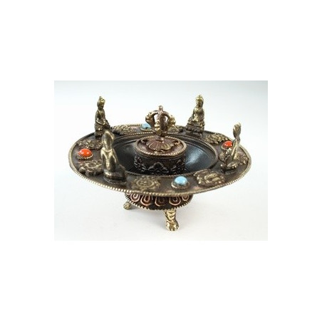 "Подставка для благовоний ""Ваджр, Будды, 8 Символов Счастья"""