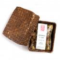 Порционный белый чай с магнолией в плетеной корзинке_4210