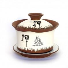 Глиняная гайвань «Будда»