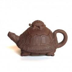 """Чайник из исинской глины """"Две черепахи"""""""