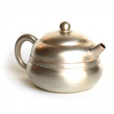 Чайник из исинской глины, покрытый серебром