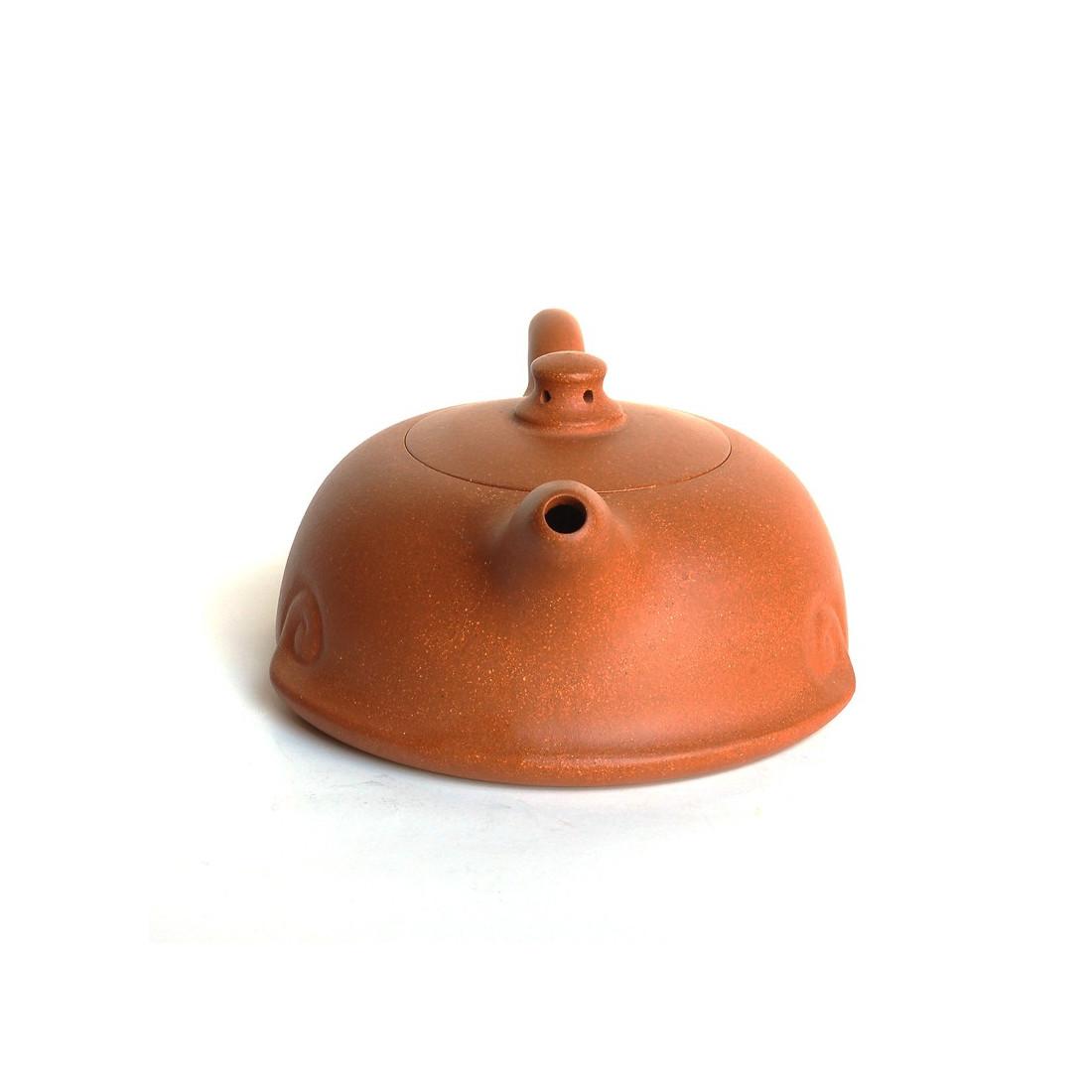 Чайник из оранжевой исинской глины