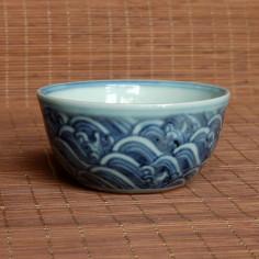 """Океан"" — чаша из цзиндэчжэньского фарфора"