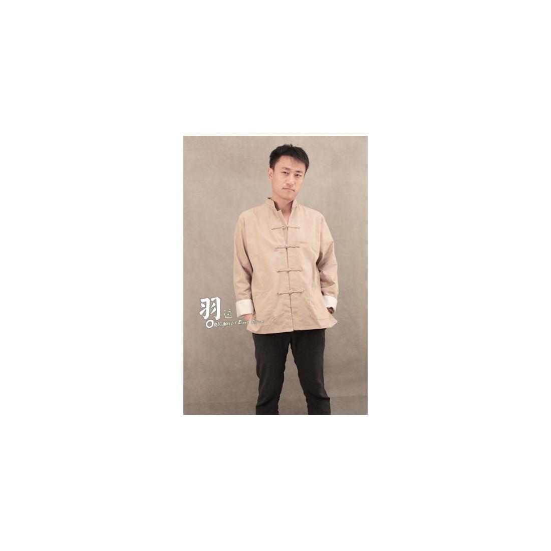 Бежевая рубашка (М102 Тулинь)
