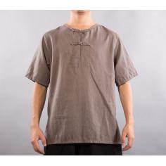 Серо-коричневая рубашка (М103 Сяо Чжун)