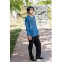 Туманно-синяя рубашка (М104 Мао Фэн)_4445