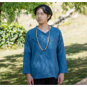 Туманно-синяя рубашка (М104 Мао Фэн)_4446