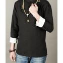 Черная рубашка (М105 Дахунпао)_4448