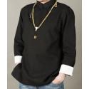 Черная рубашка (М105 Дахунпао)_4449