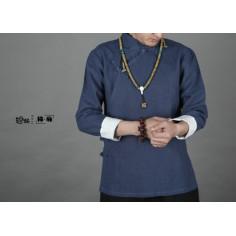 Туманно-синяя рубашка (М105 Дахунпао)