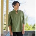 Зеленая рубашка (М106 Билочунь)_4467