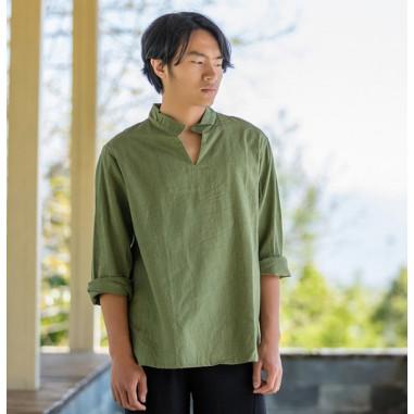 Зеленая рубашка (М106 Билочунь)