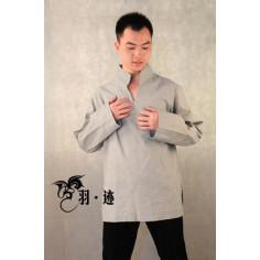 Светло-серая рубашка (М106 Билочунь)