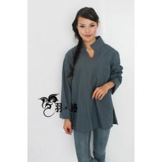 Сине-серая рубашка (М106 Билочунь)