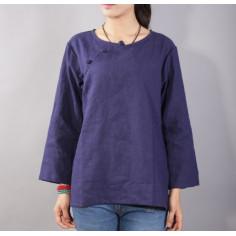 Туманно-синяя рубашка (М109 Даньцун)