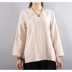 Бежевая рубашка (М109 Даньцун)